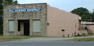 Muscle Shoals Sound building from 1969 to 1979.